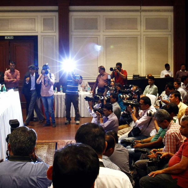 press conference event